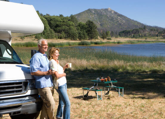 Couple Enjoys Retirement